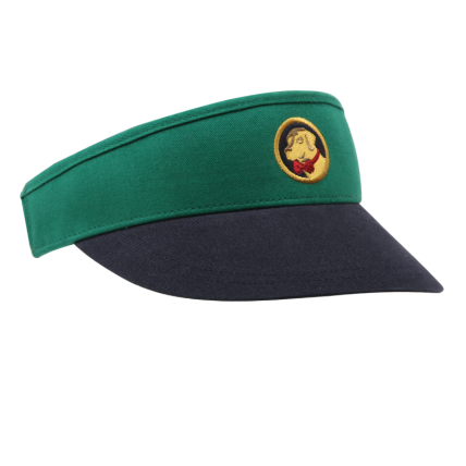 Green and Navy Blue Visor